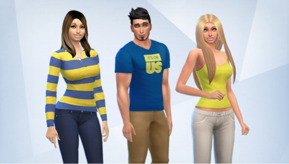 Sims 4 Threes Company by PopulationSims at Sims 4 Caliente