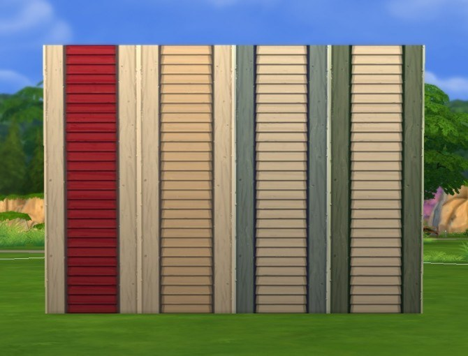 Simple Siding Add On: Left/Right Edge by plasticbox at Mod The Sims image 6641 Sims 4 Updates