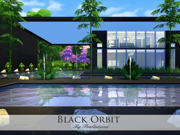 Black Orbit house by Pralinesims at TSR image 6681 Sims 4 Updates