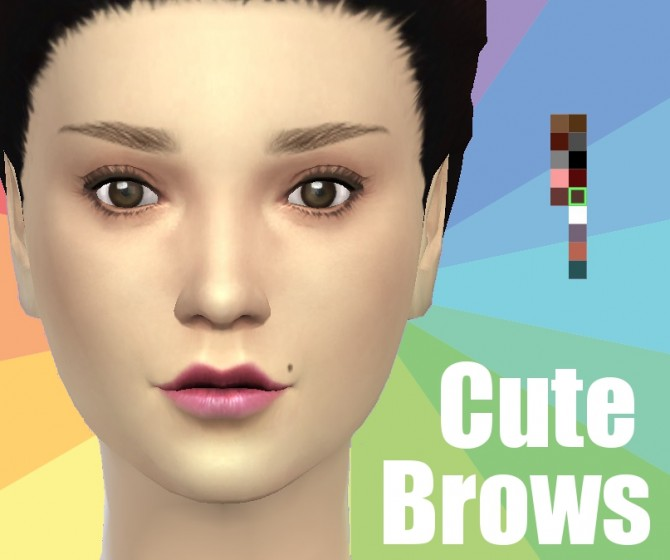 Cute Brows by Koodlebug at TSR image 6716 Sims 4 Updates