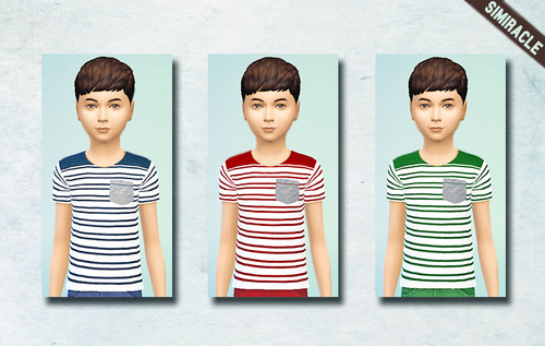 Sims 4 Pocket Trio Shirt Pack at Simiracle