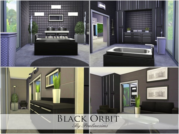 Black Orbit house by Pralinesims at TSR image 6781 Sims 4 Updates