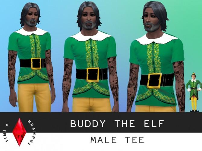 Elf Costume At Sims 4 Krampus 187 Sims 4 Updates