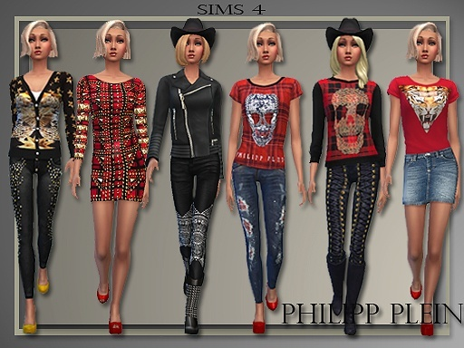 Designer Clothes By Judie At All About Style Sims 4 Updates