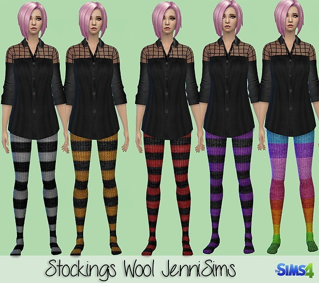 Sims 4 Accessory Stockings wool at Jenni Sims
