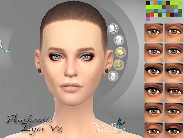 Authentic Eyes V2 by Ms Blue at TSR image 6991 Sims 4 Updates