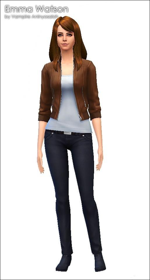Emma Watson By Vampire Aninyosaloh At Mod The Sims 187 Sims