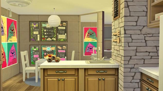 Sims 4 Rowan All In One Condo Room at Simkea