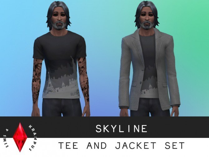 Tees, sweater, jacket and dress at Sims 4 Krampus image 7351 Sims 4 Updates