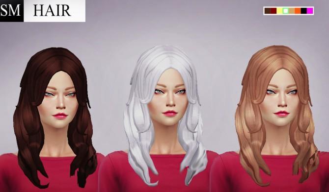 Monalisa Hair at Simaniacos image 7410 Sims 4 Updates