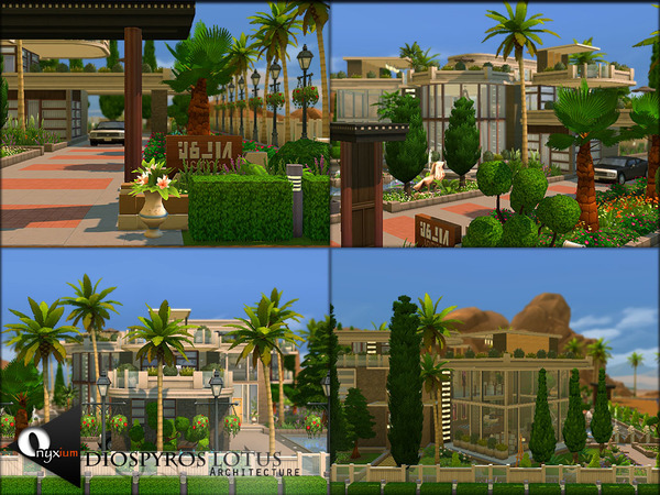 Diospyros Lotus house by Onyxium at TSR image 7511 Sims 4 Updates