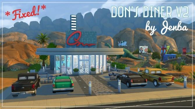 Dons diner V2 at Jenba Sims image 7620 Sims 4 Updates