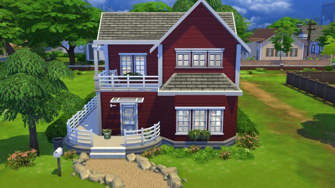 Larger Scandinavian Cabin at Totally Sims image 768 Sims 4 Updates