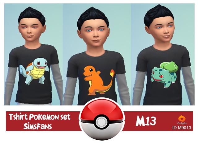 Sims 4 Pokèmon set starter by M13 at Sims Fans