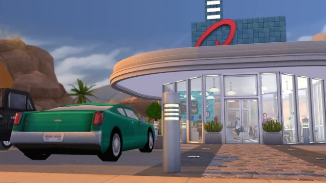 Dons diner V2 at Jenba Sims image 7717 Sims 4 Updates