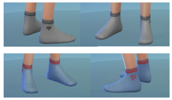 CAS content for kids: tattoos, socks and outfit at Sim2me image 776 Sims 4 Updates