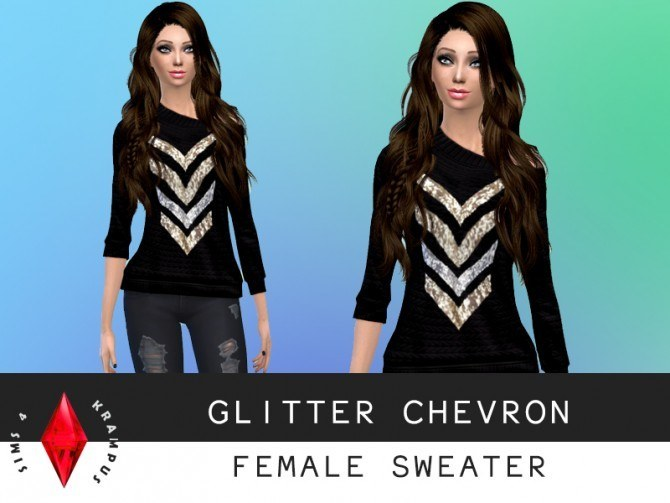 Sims 4 Tees, sweater, jacket and dress at Sims 4 Krampus