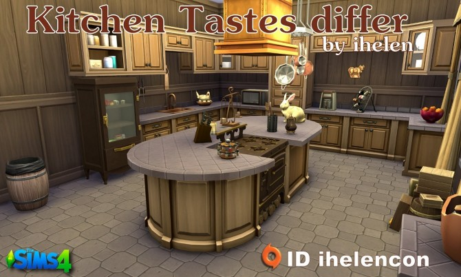 Kitchen Tastes differ by ihelen at ihelensims image 78101 Sims 4 Updates
