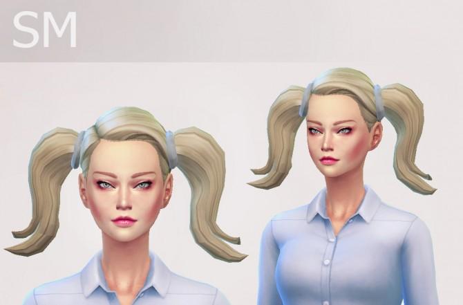 Sims 4 SM Bella Hair at Simaniacos
