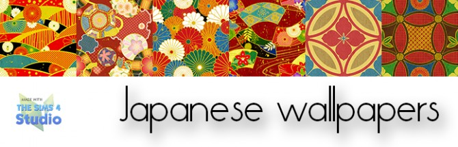 Japanese Wallpapers Part 1 at Gelly Sims image 7821 Sims 4 Updates