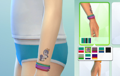 CAS content for kids: tattoos, socks and outfit at Sim2me image 786 Sims 4 Updates