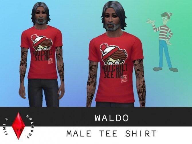 Tees, sweater, jacket and dress at Sims 4 Krampus image 81121 Sims 4 Updates