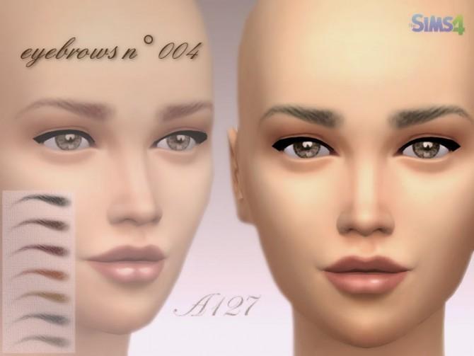 Eyebrows n° 004 at Altea127 SimsVogue image 82101 Sims 4 Updates