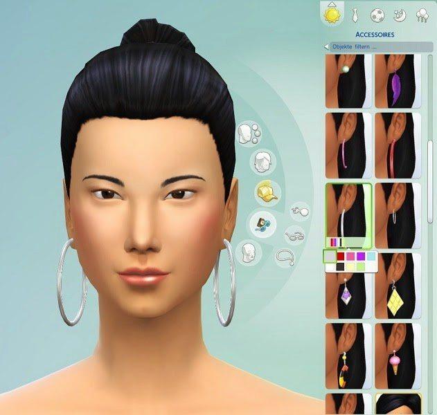 Sims 4 Earrings Set 2 by Michaela P. at 19 Sims 4 Blog