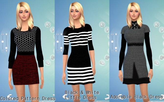 Sims 4 Dresses at Darkiie Sims4