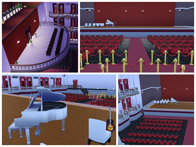 Opera Theater By Sim4fun At Sims Fans 187 Sims 4 Updates