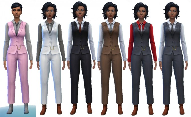 MobBoss outfit unhidden by JADGIRL at Mod The Sims image 83111 Sims 4 Updates