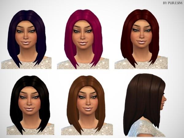 Voluminous Hair Mesh by Puresim at TSR image 8381 Sims 4 Updates