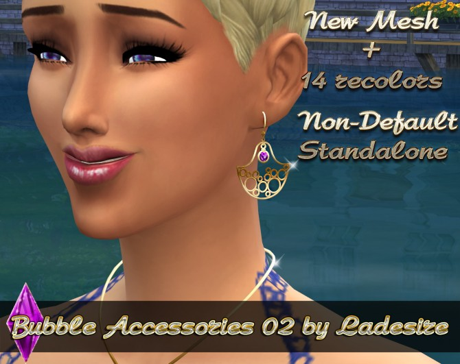 Sims 4 Bubble Set Accessories 02 at Ladesire