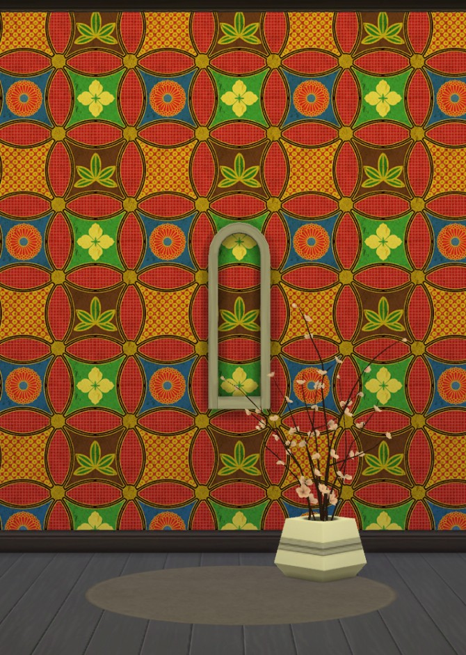 Japanese Wallpapers Part 1 at Gelly Sims image 8421 Sims 4 Updates