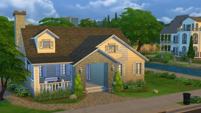 Sims 4 Sweet Cottage Lane 20 by bradybrad7 at Mod The Sims