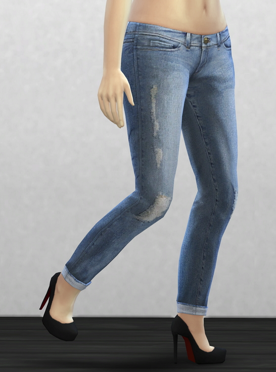 Sims 4 Frame denim 3 at Rusty Nail
