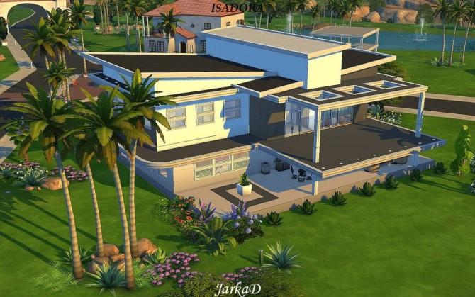 Sims 4 Villa ISADORA at JarkaD Sims 4 Blog