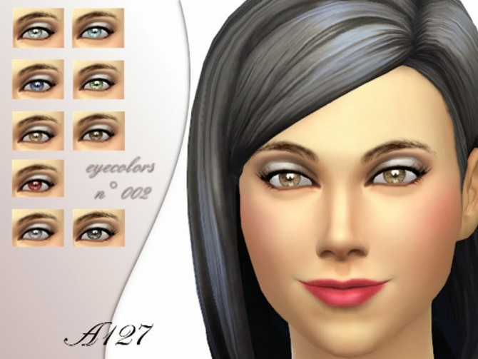 Sims 4 Eyecolors set 002 at Altea127 SimsVogue