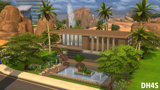 78 Osprey Street, San Diego house at DH4S image 9181 Sims 4 Updates