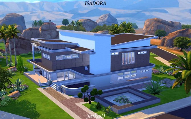 Villa ISADORA at JarkaD Sims 4 Blog 187 Sims 4 Updates : 92 from sims4updates.net size 670 x 419 jpeg 84kB