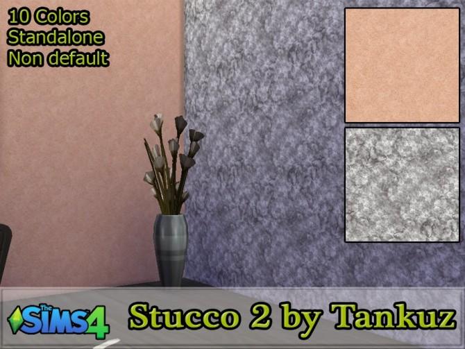 Sims 4 Stucco walls 2 at Tankuz Sims4
