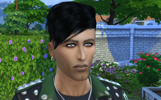 Sims 4 Alex Foster by ihelen at ihelensims
