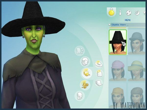 """Sims 4 Halloween Special """"Wicked"""" at Akisima"""
