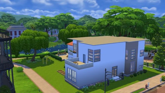 Sims 4 Modern House 2 at 19 Sims 4 Blog