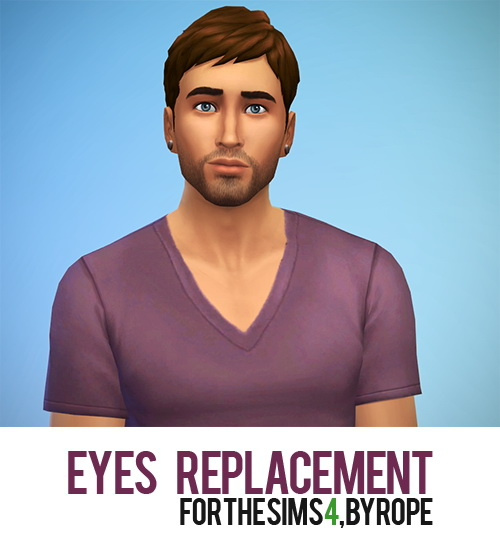 Eyes Remplacement *UPDATED 5 new colors at Simsontherope image 953 Sims 4 Updates