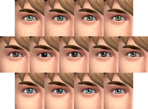 Eyes Remplacement *UPDATED 5 new colors at Simsontherope image 963 Sims 4 Updates