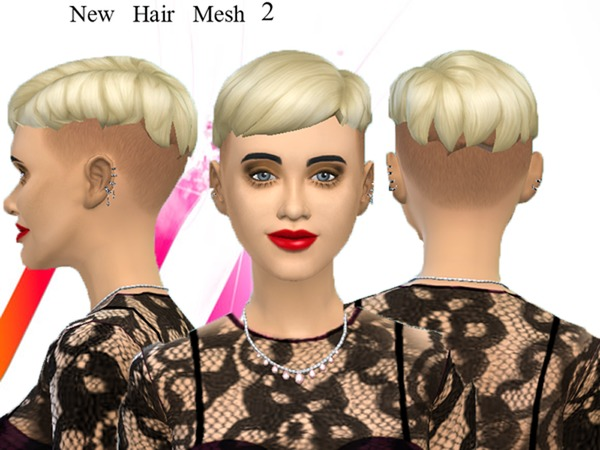 New mesh, punk hair 2 by neissy at TSR image 980 Sims 4 Updates