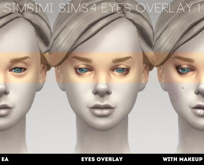 EYES OVERLAY 1/2 at Simsimi only mine image 987 Sims 4 Updates