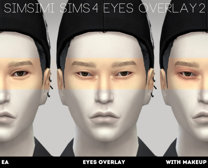 EYES OVERLAY 1/2 at Simsimi only mine image 997 Sims 4 Updates