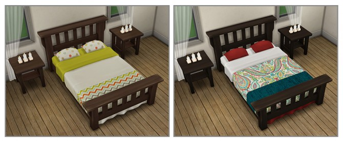 Single Mission Bed Recolors at Saudade Sims image 10013 Sims 4 Updates